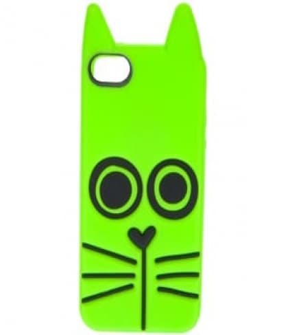 Marc Jacobs Rue Cat Toucan Green iPhone 5 Case