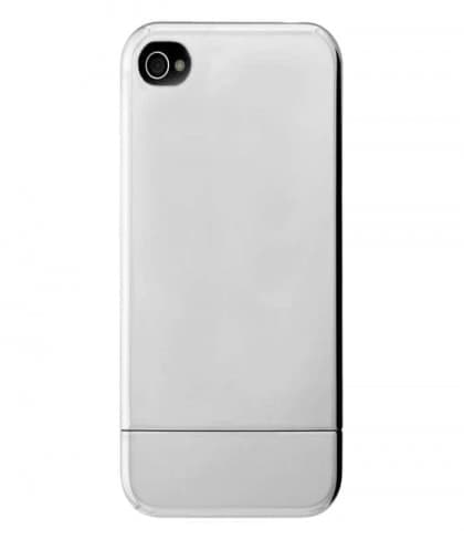 Incase Chrome Slider Case for iPhone 4 - Silver Chrome