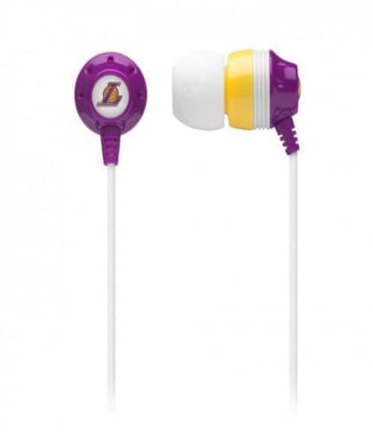 Skullcandy Ink'D NBA Earbud Headphones Lakers