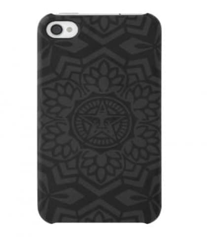Shepard Fairey Snap Case - Black Yen