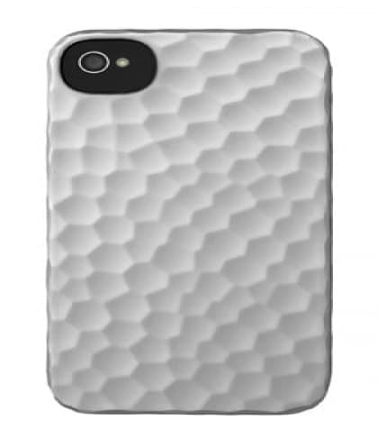 Incase Hammered Snap Case iPhone 4S - Silver
