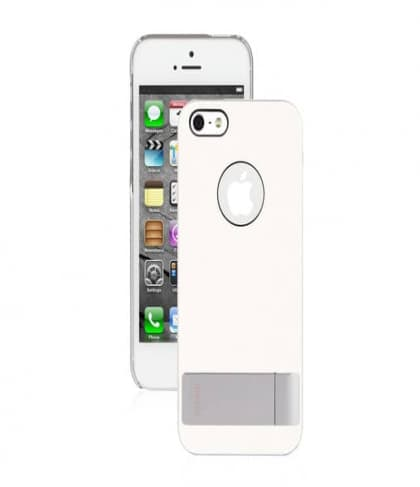 Moshi iGlaze Kameleon Stand Case for iPhone 5 5s White