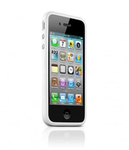Apple Bumper White for iPhone 4 4S (MC668ZM/B)