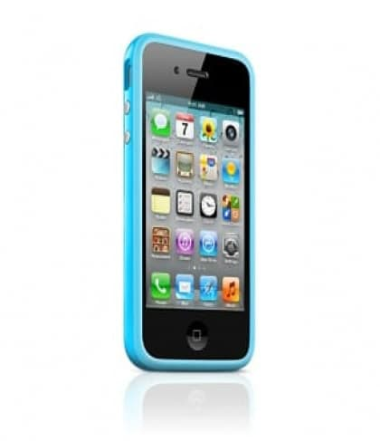 Apple Bumper Blue for iPhone 4 4S (MC670ZM/B)