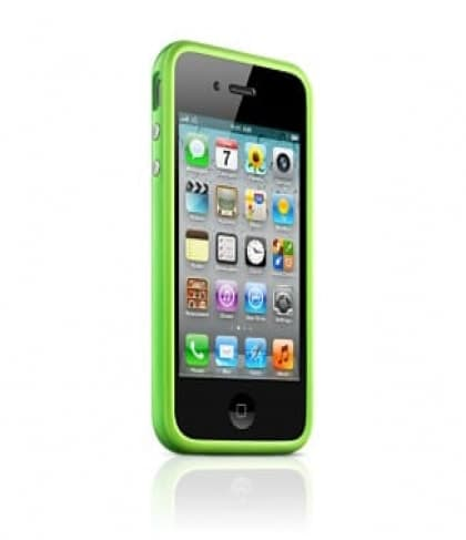 Apple Bumper Green for iPhone 4 4S (MC671ZM/B)