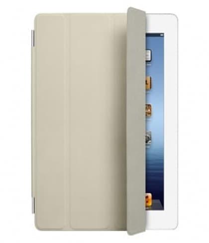 iPad Smart Cover - Cream Leather