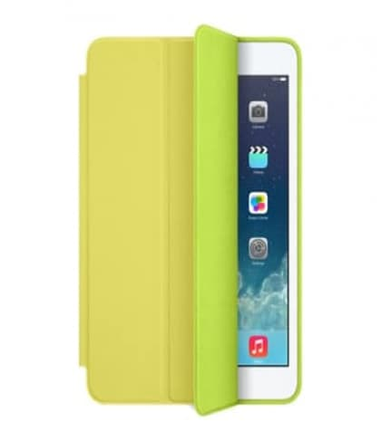 Smart Case for Apple iPad Mini and iPad Mini Retina Yellow