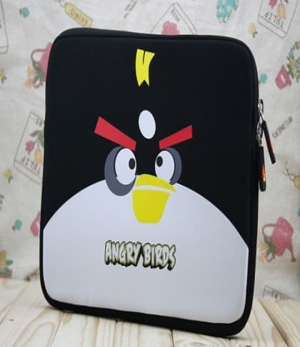 Black Bomber Neoprene iPad Sleeve