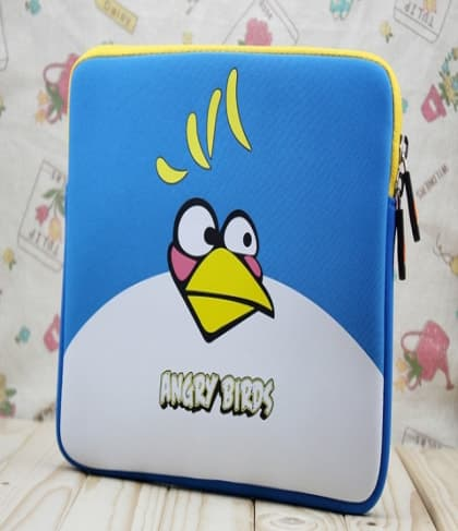Blue Bird Neoprene iPad Sleeve