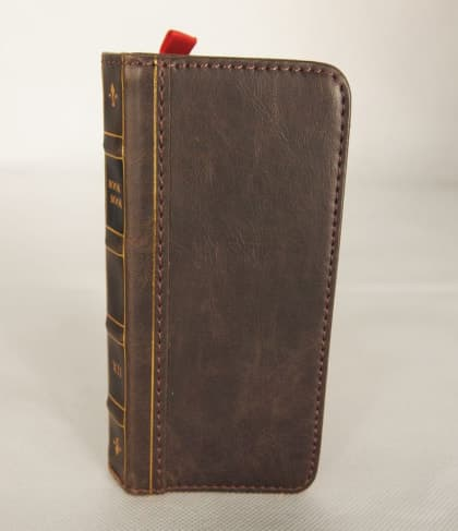BookBook Leather Wallet ID Case Brown iPhone 5 5s SE