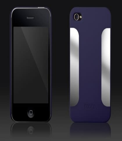 More Thing Para Blaze Collection Navy Blue iPhone 4 Case