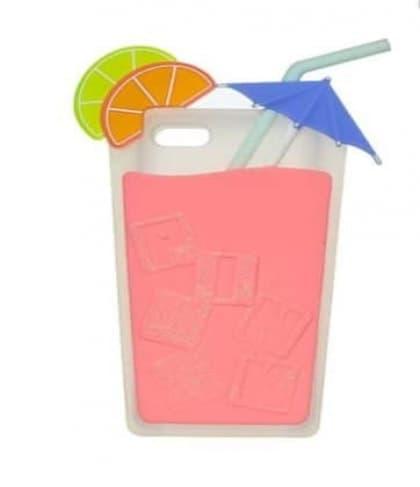 Victoria's Secret Pink Drink Unique Shape iPhone 5 5s Soft Case