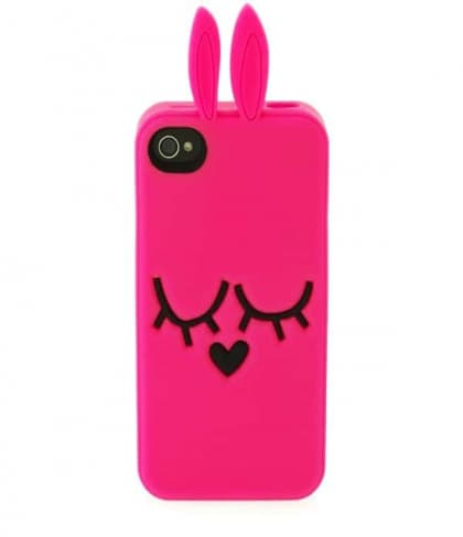 Marc Jacobs Katie the Bunny Diva Pink iPhone 5 Case