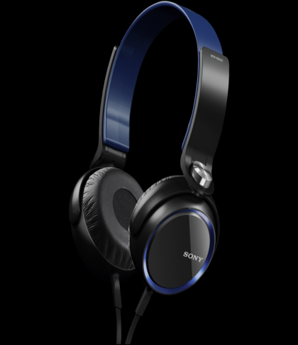 Sony MDR XB400/BLU Headphones Blue