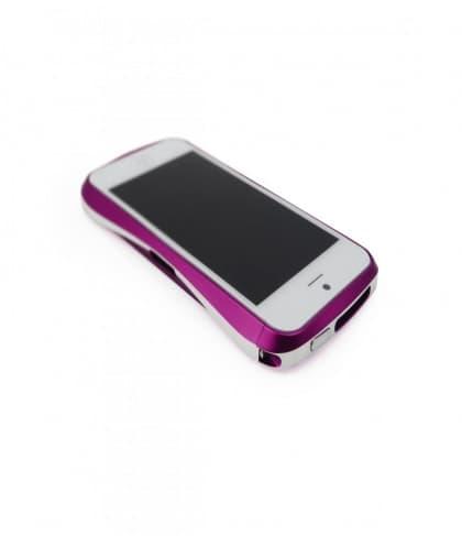 Draco 5 Deff Cleave Japan Aluminum Bumper for iPhone 5 (Galactic Purple)