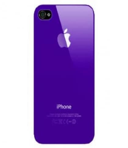 Luminosity Purple iPhone 4 4S