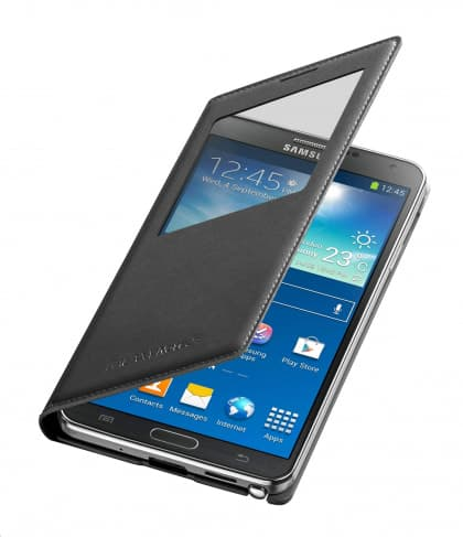 Samsung Galaxy Note 3 S-View Black Cover