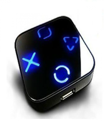 USB Hub Blue Led Backlit