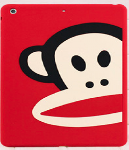 Paul Frank Silicone Case for iPad Air Half Red Monkey