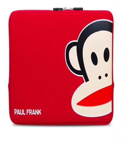 "Paul Frank Uncommon Neoprene Sleeve for Macbook Pro 13"" Red Zoom Julius"