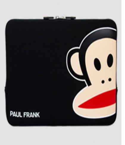"Paul Frank Uncommon Neoprene Sleeve for Macbook Pro 13"" Black Zoom Julius"