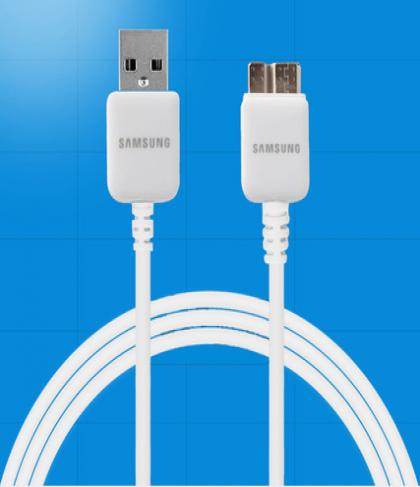 Samsung Galaxy Note 3 USB 3.0 Data Cable-Original Samsung OEM ET-DQ10Y0WE