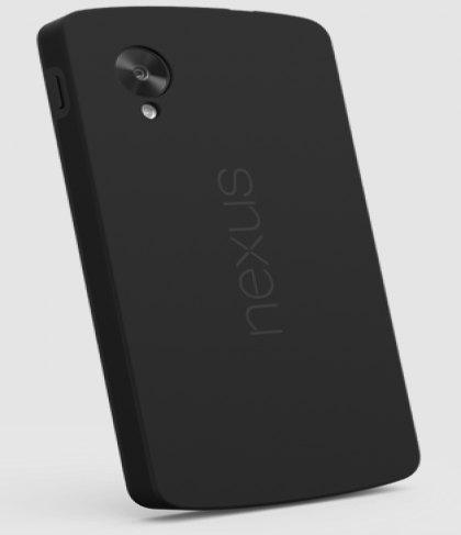 Official Nexus 5 Bumper Case Black