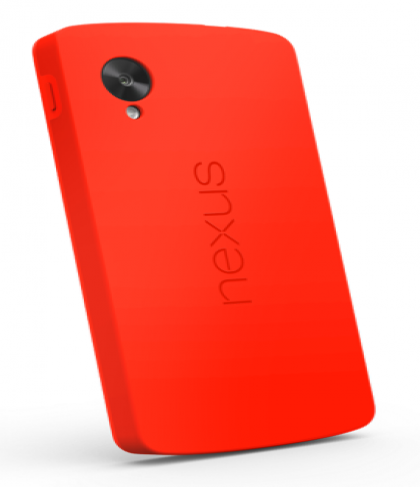 Official Nexus 5 Bumper Case Red