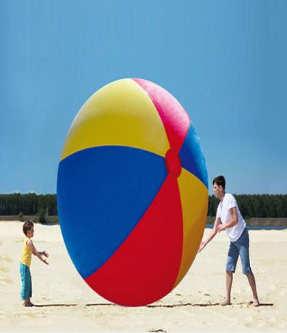Giant Inflatable Beach Ball 8.2ft Diameter