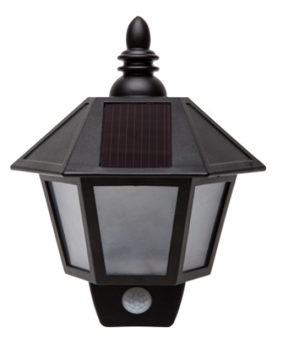 Solar Power LED Mounted Wall Lamp