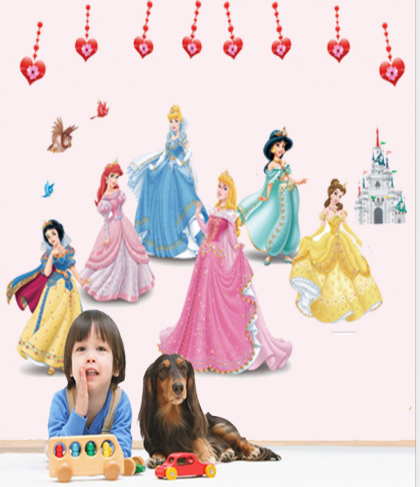 Snow White Wall Decal Sticker