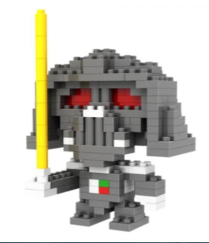 Loz Toy Nano Building Block Gift Series Darth Vader Star Wars