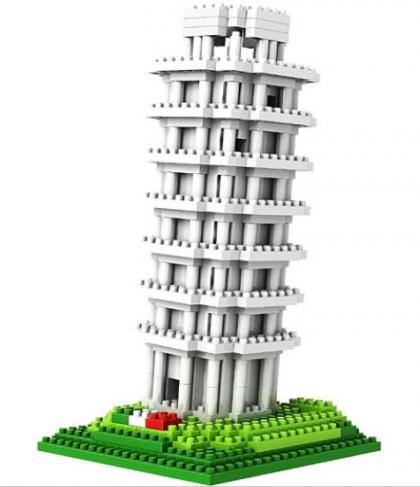 Loz Nano Block Architecture Series Tower of Pisa