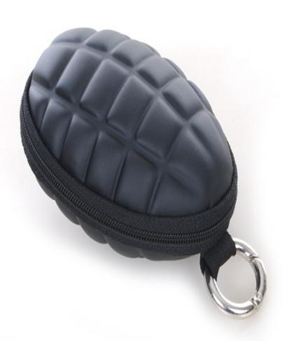 Grenade Keychain Coins Wallet Backpack Holder Hook
