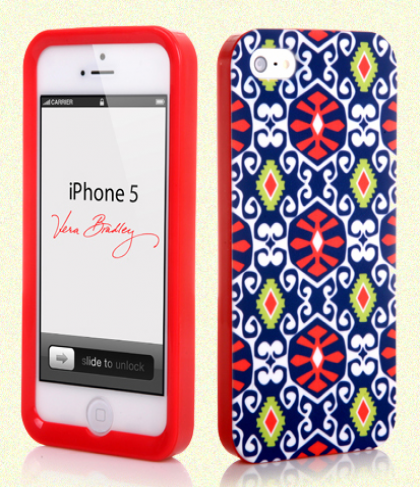 Vera Bradley Snap On Case for iPhone 5 5s Sun Valley