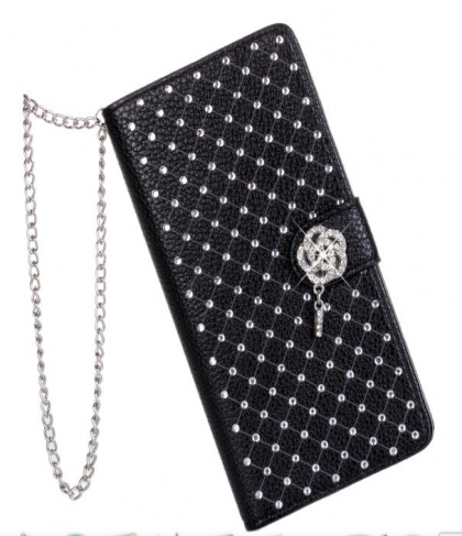Leather Purse Wallet Clutch Case for LG G3