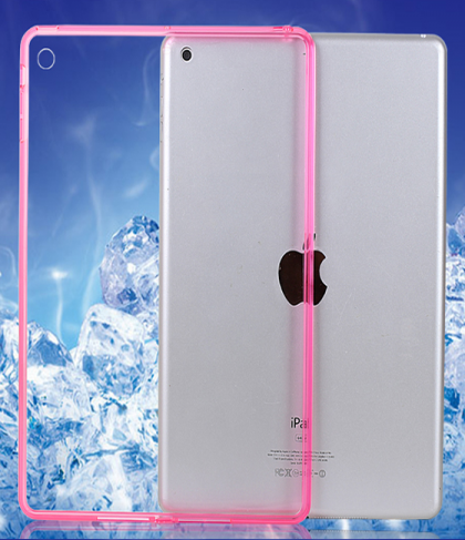 Thin See Through Case with Bumper For iPad Air