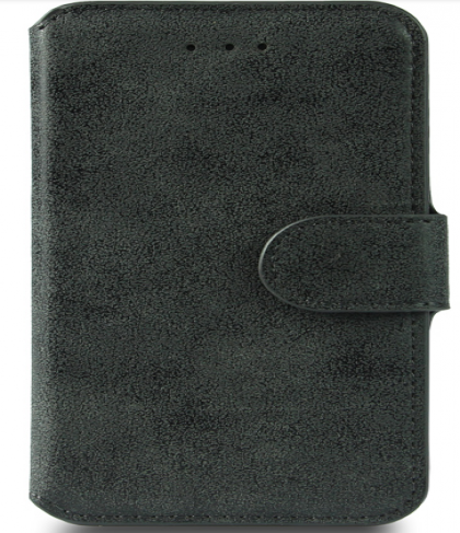 iPhone 6 Plus Rugged Leather Wallet Credit Card Holder ID Holder Case