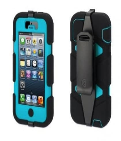 iPhone 5 Survivor Black/Pool Blue