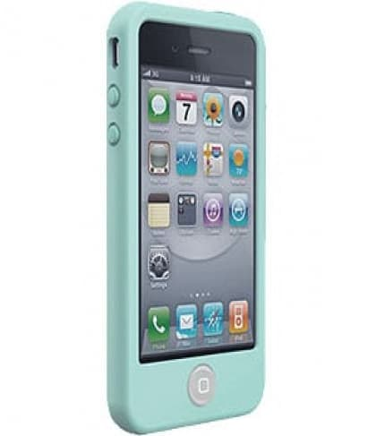 SwitchEasy Colors Pastels Mint Silicone Case for iPhone 4