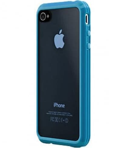 SwitchEasy Trim Hybrid Blue Case for Apple iPhone 4