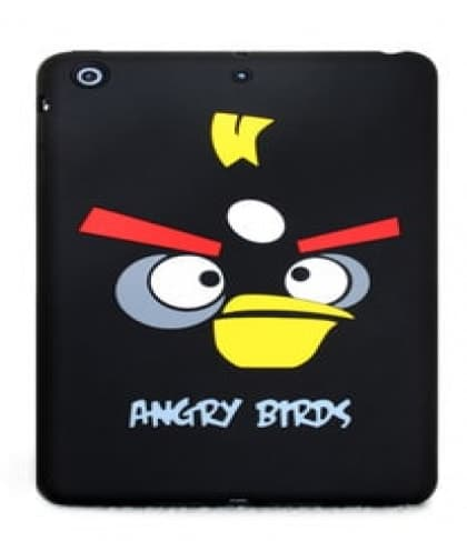Angry Birds Silicone Case for iPad Air Red Yellow Black Bird Pig King