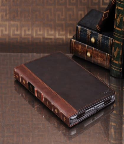 iPad Mini BookBook Brown Leather Case
