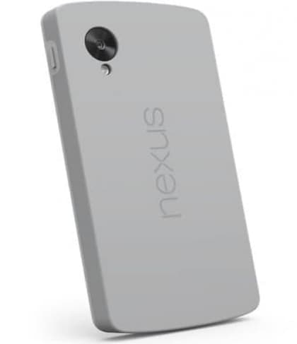 Official Nexus 5 Bumper Case Gray