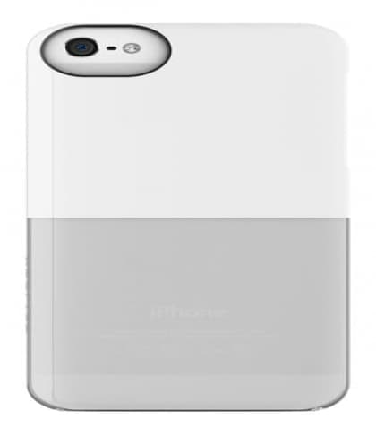 Adopted Caplet Case for iPhone 5 White