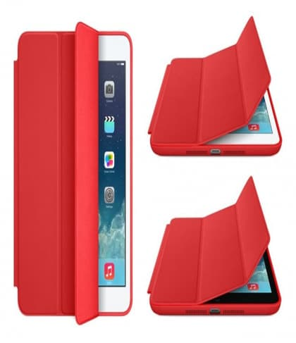Smart Case for Apple iPad Mini and iPad Mini Retina Red