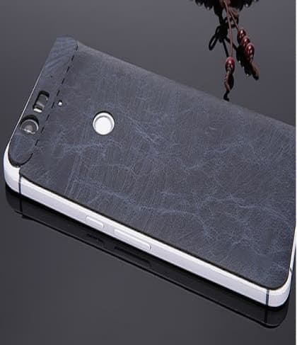 Real Leather Back Decal for Nexus 5X