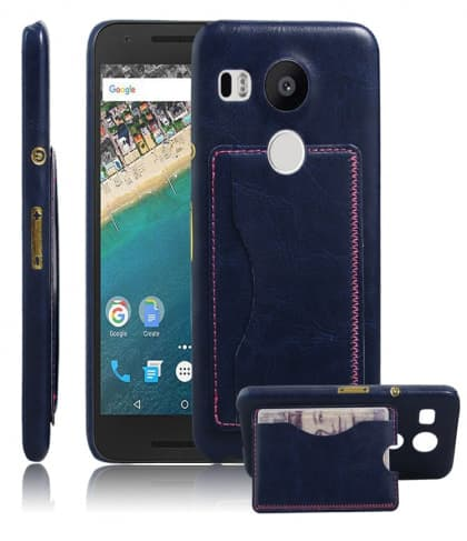 Wallet Card Holder ID Case for Nexus 5X