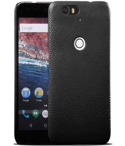 Real Leather Back Case for Nexus 6P