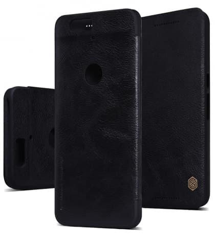 LG Nexus 6P Genuine Leather Flip Case